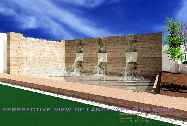 Fish Pond Design (Miri)