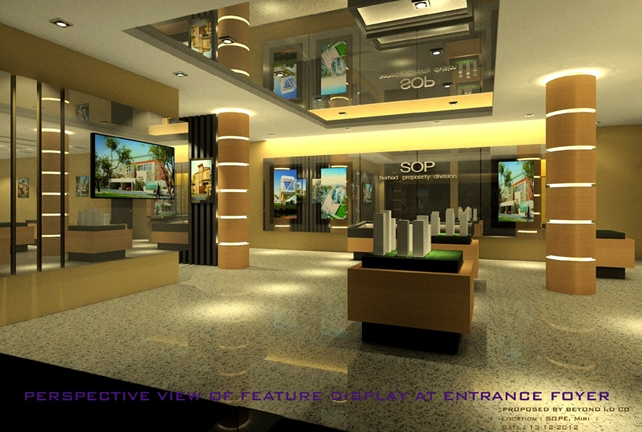 Show Room Entrance Foyer (Miri)