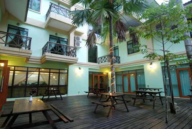 Court Yard (Miri)