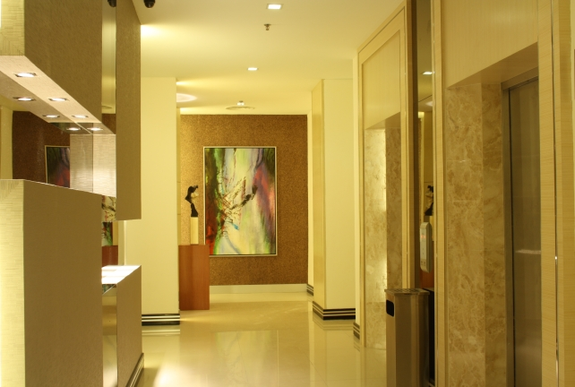 Lift Lobby Hall Display (Bintulu)